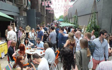 Maltby Street Market (image taken from http://maltbystmarket.com/)