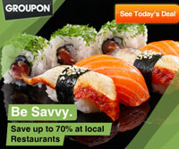 See restaurant deals on Groupon