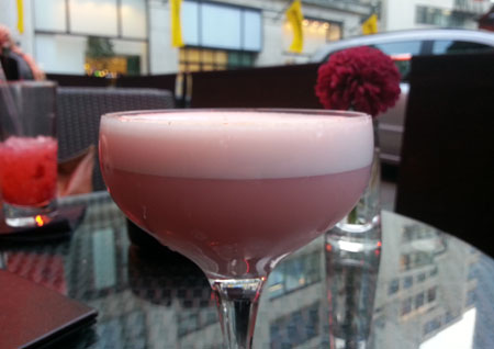 Apres London Pink Panther Cocktail