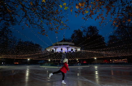 Winter Wonderland Ice Skating