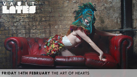 Vault Lates - The Art of Hearts