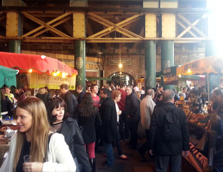 Southbank for a Date - Borough Market