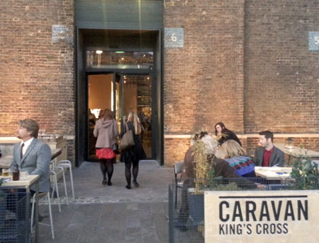Caravan Kings Cross Entrance
