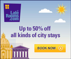 Save money at LateRooms