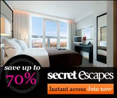 Sign up for great deals at luxury hotels