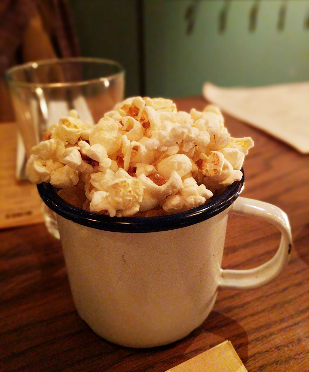 Flat Iron Beef Dripping Popcorn