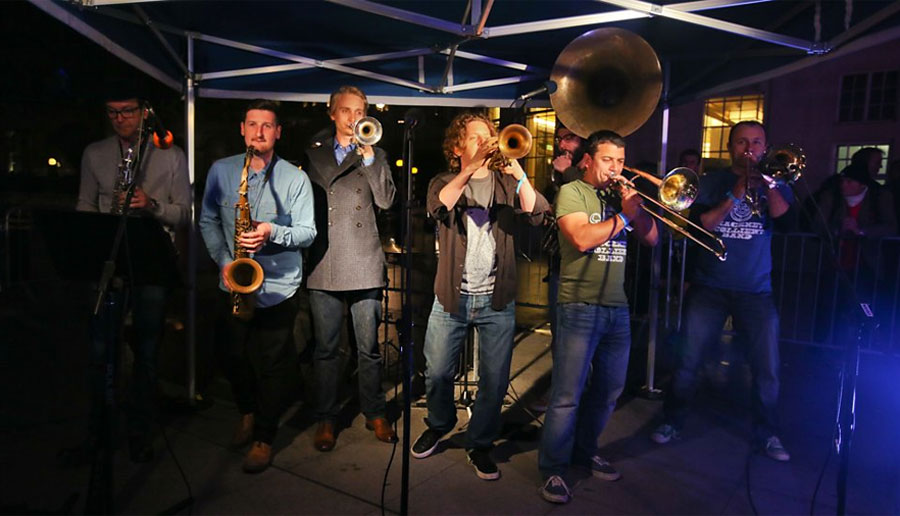 Hackney Colliery Band - Valentines Date London