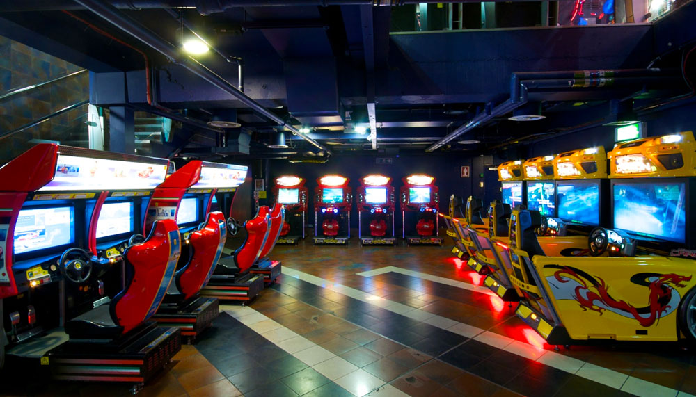Namco Funscape - London arcade Valentines Date