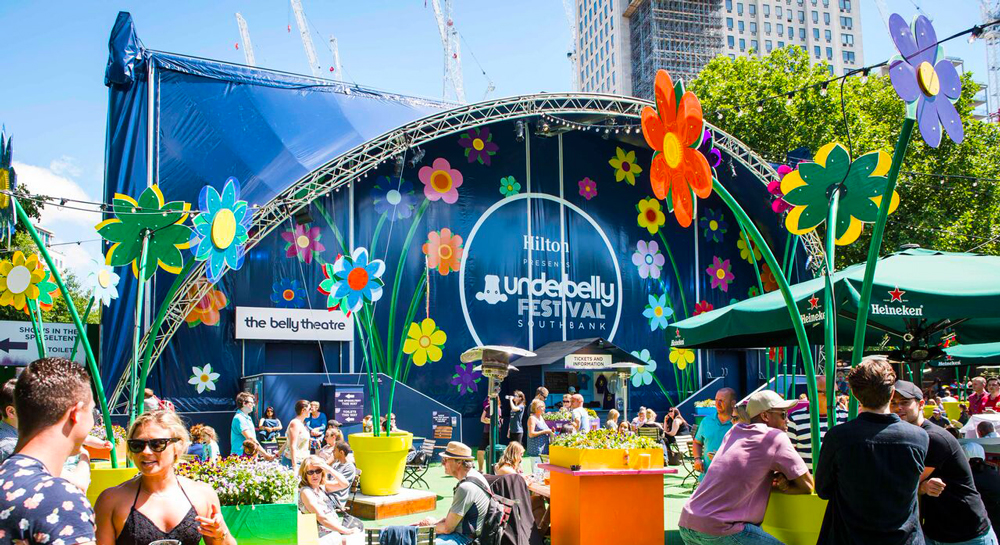 Underbelly Festival - Southbank 2018